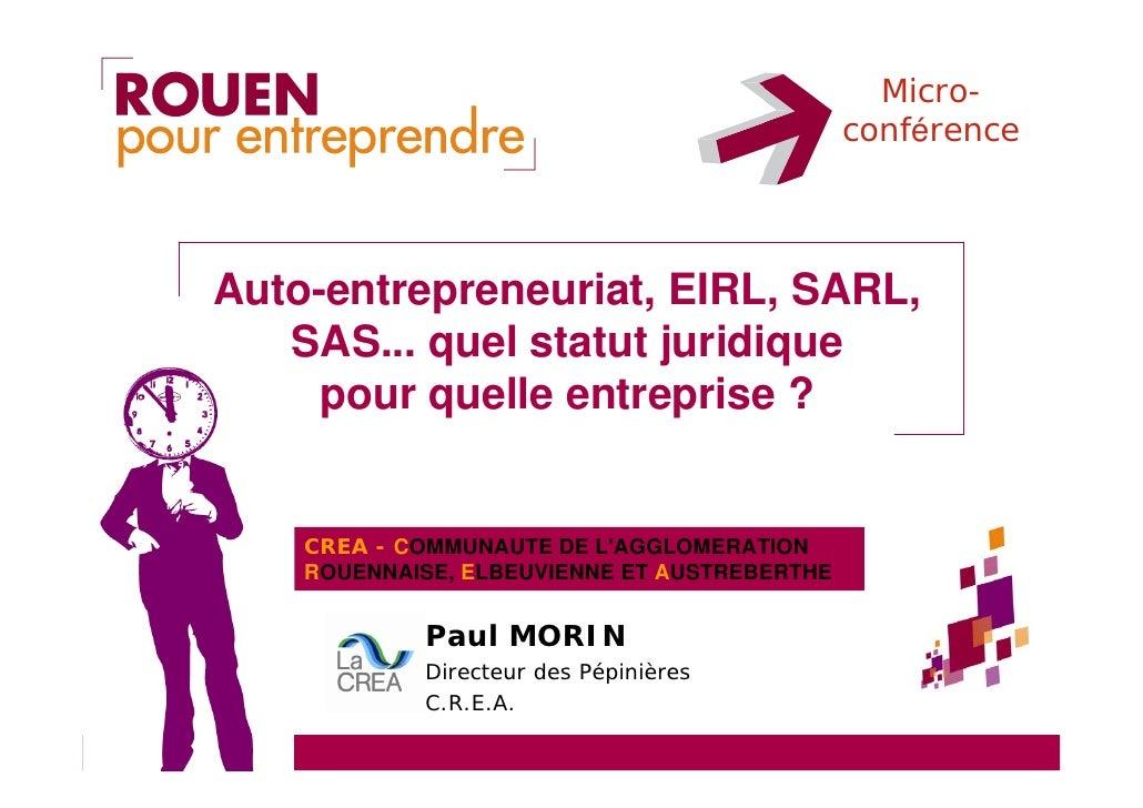 Auto entrepreneuriat e i r l s a r l s a s quel statut for Auto entrepreneur quel metier rapporte