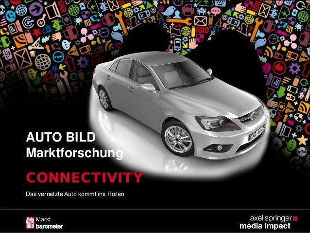 "AUTO BILD Marktbarometer ""Connectivity"""