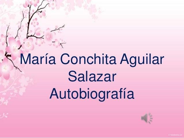 María Conchita Aguilar       Salazar    Autobiografía