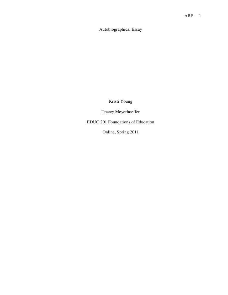 Best websites for essay autobiographical