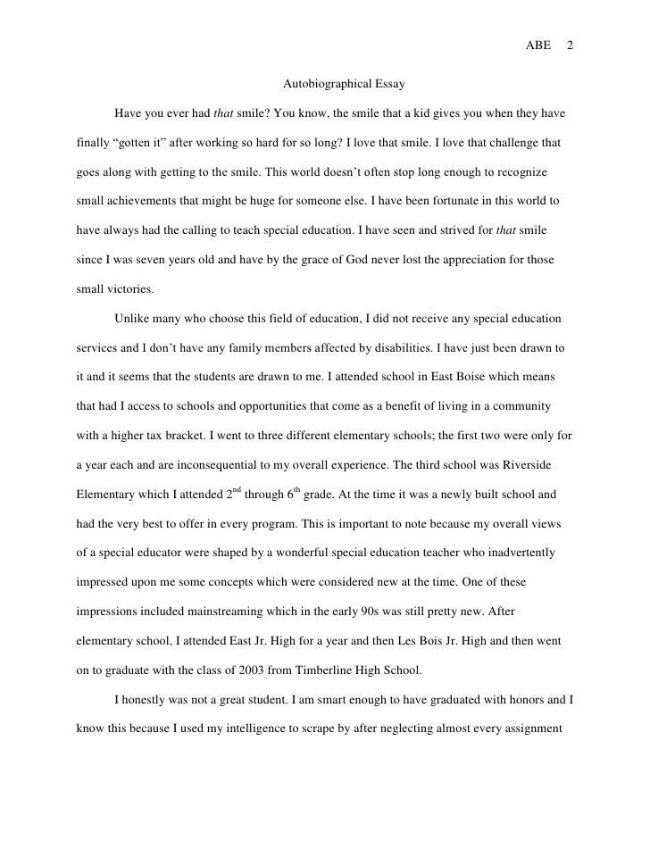 the best essay ever written