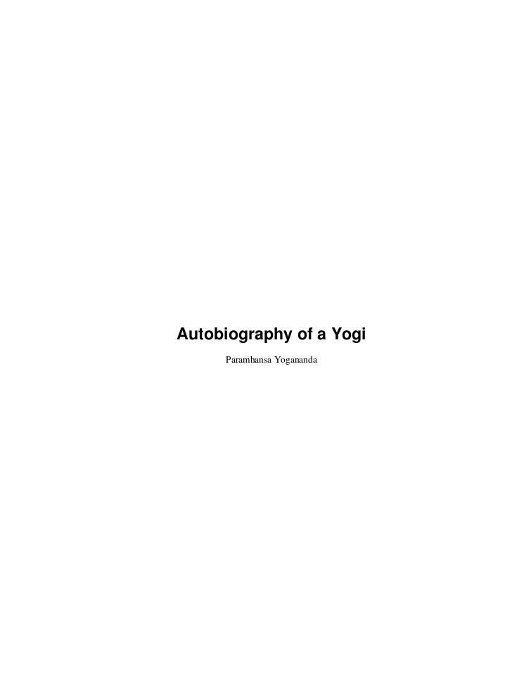 Autobiography of a Yogi     Paramhansa Yogananda