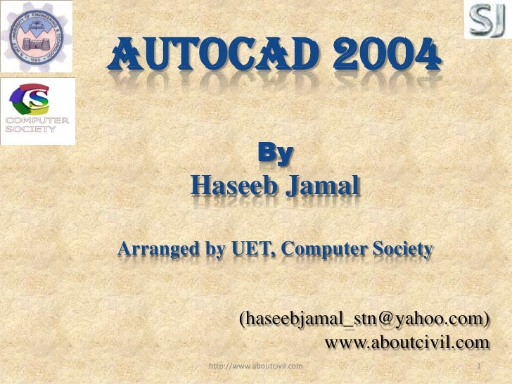 Autocad 1st Lecture