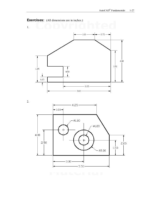 cad how to draw dimensions above each other