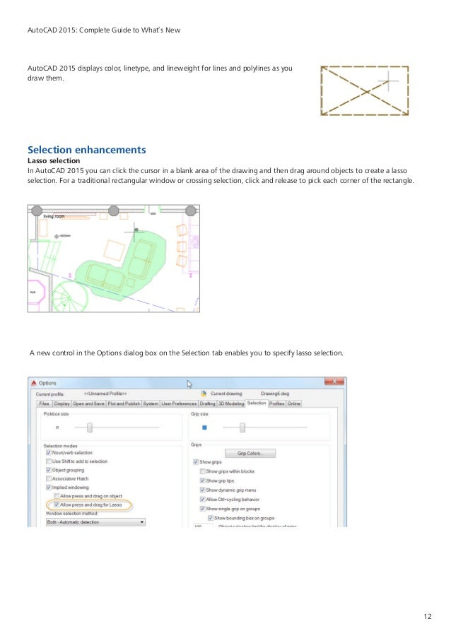 Drawing Smooth Lines In Autocad : Autocad what is new guide