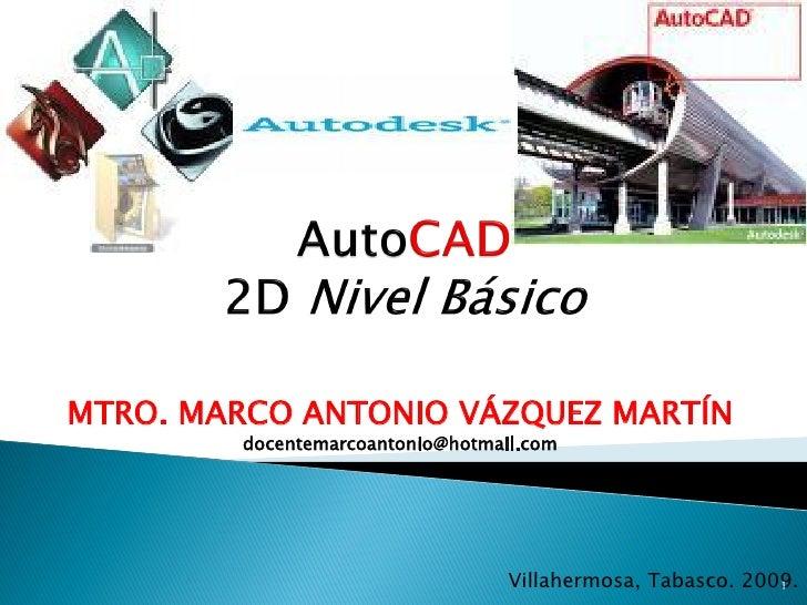 MTRO. MARCO ANTONIO VÁZQUEZ MARTÍN         docentemarcoantonio@hotmail.com                                       Villaherm...