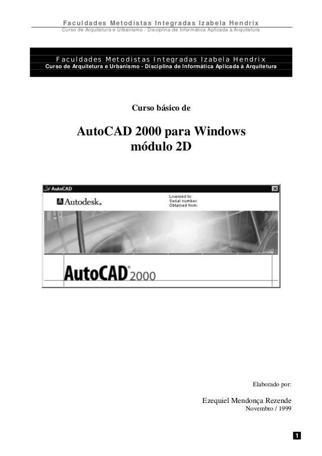 Auto cad 2000_2d
