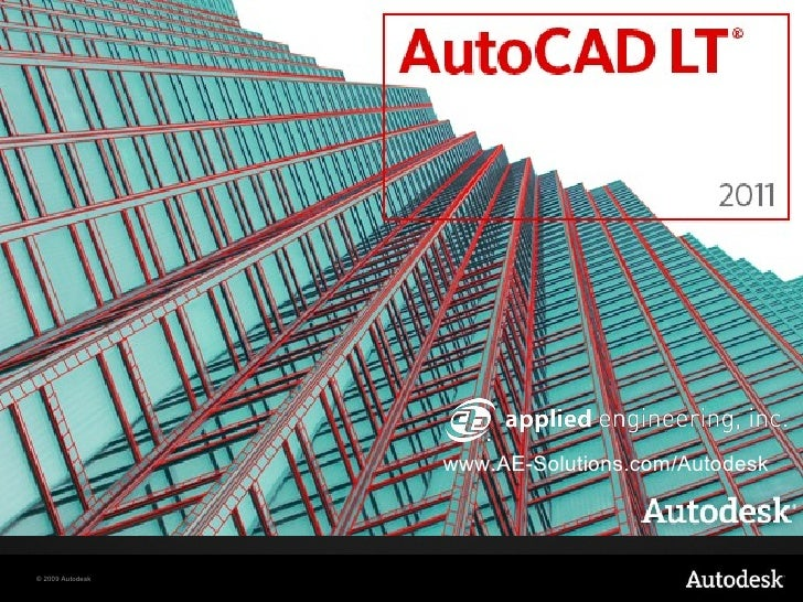 Whats New in AutoCAD LT 2011