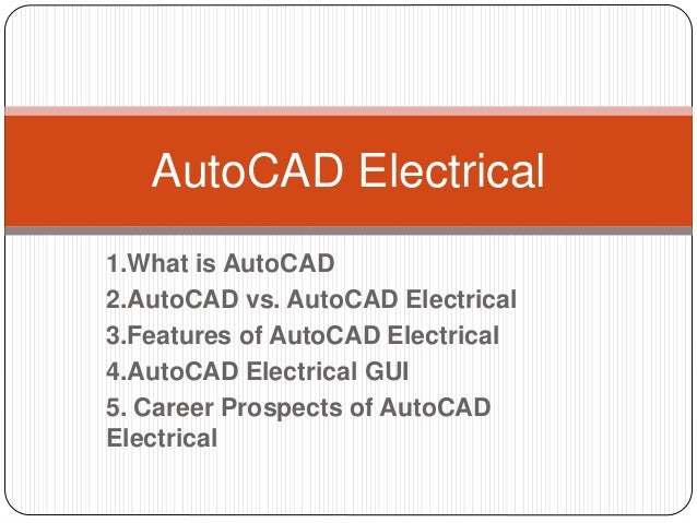 Autocad Electrical 2011 Autocad Electrical