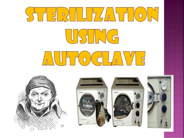  An autoclave is a device used to sterilize equipment and supplies by subjecting them to high pressure saturated steam a...