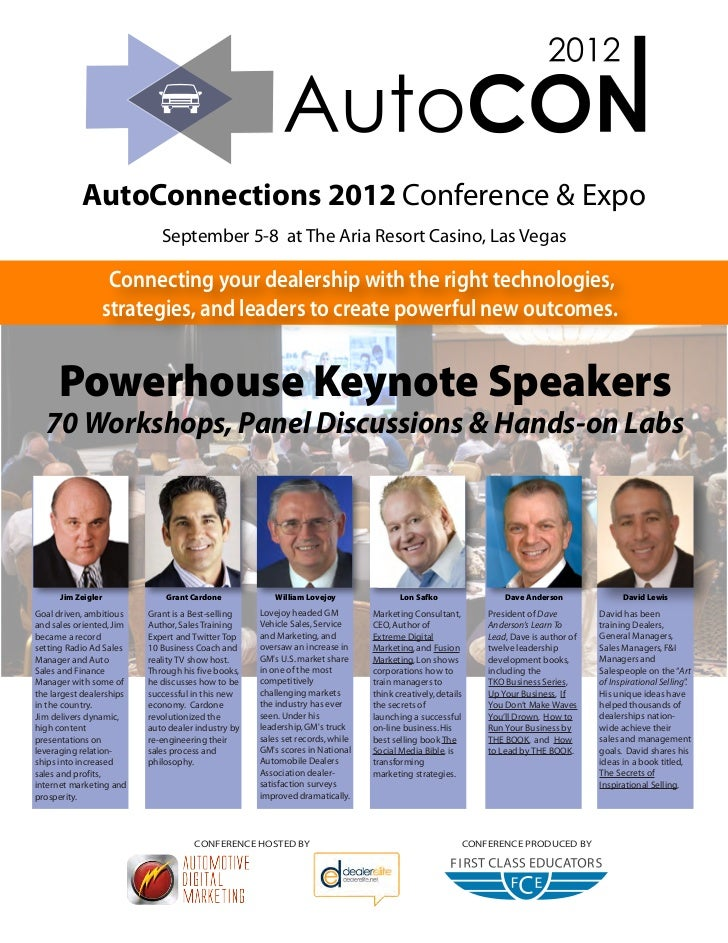 AutoCon 2012 Conference and Exposition Magazine Ad