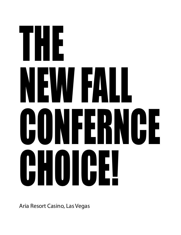 AutoCon 2012 Conference Brochure