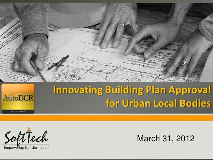 Insert ImageInnovating Building Plan Approval           for Urban Local Bodies                    March 31, 2012