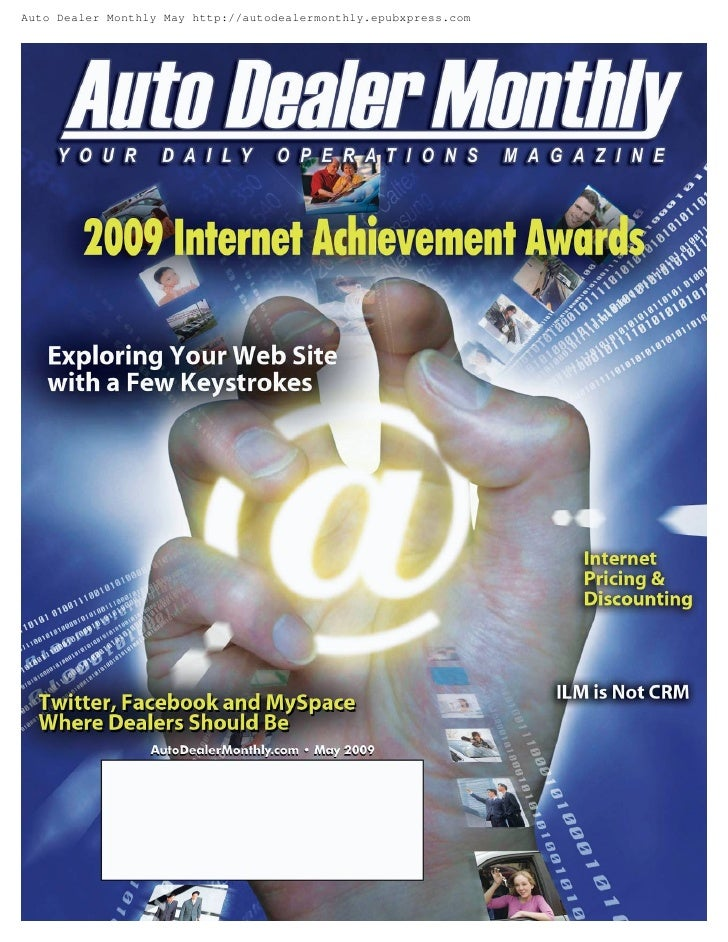Auto Dealer Monthly May http://autodealermonthly.epubxpress.com
