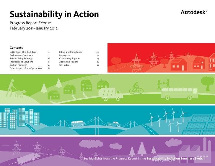 Autodesk's FY12 Sustainability Progress Report