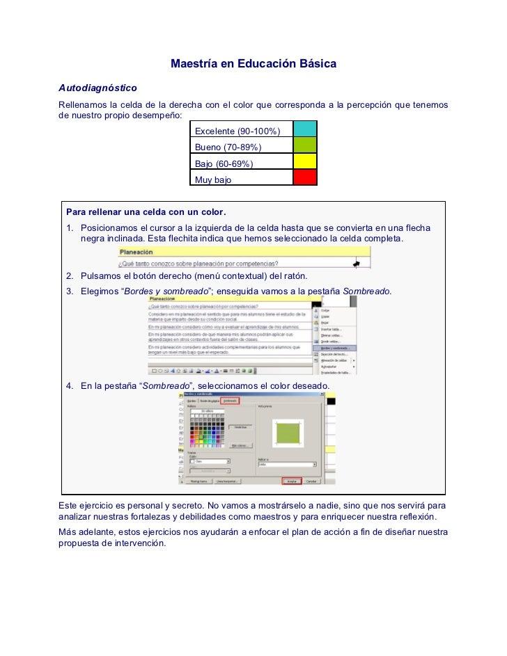 Autodiagnostico (instrumentos)