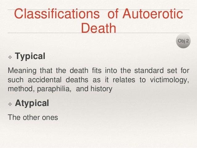 Autoerotic Death