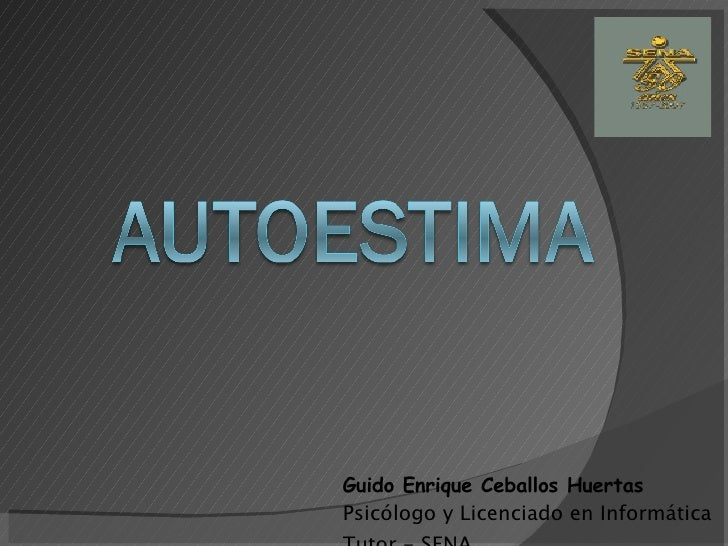 Guido Enrique Ceballos Huertas Psicólogo y Licenciado en Informática Tutor - SENA