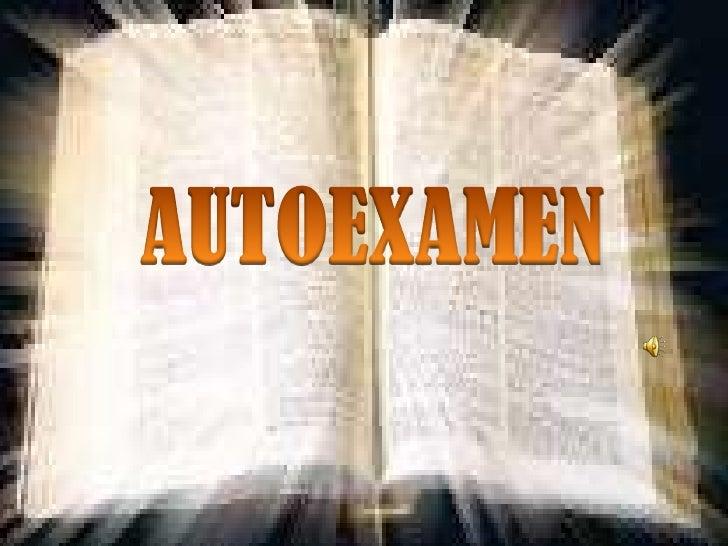 Autoexamen
