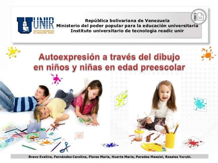 Autoexpresión a través del Dibujo en Niños y Niñas en Edad Preescolar