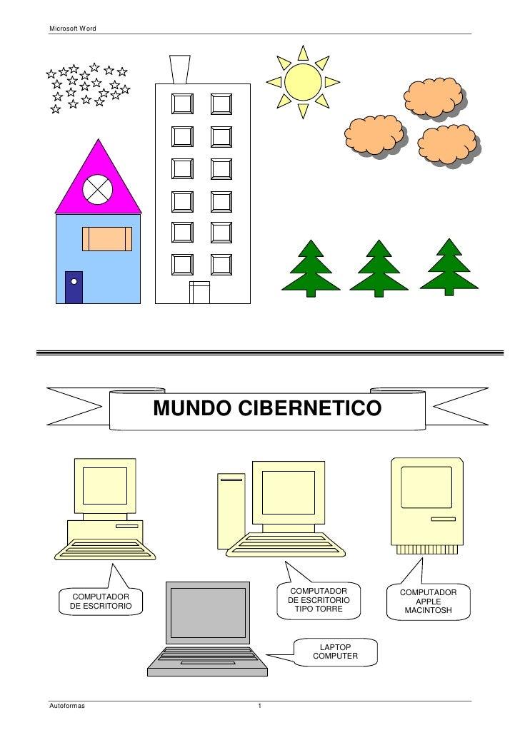 Microsoft Word                      MUNDO CIBERNETICO                                 COMPUTADOR      COMPUTADOR      COMP...