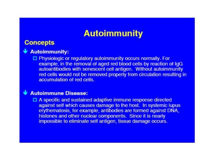 Autoimmunity engl
