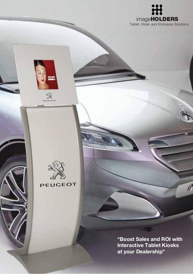 Tablet Kiosks for the Automotive Sector