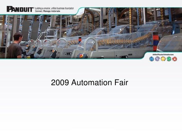 Automation Fair 2009 - Panduit