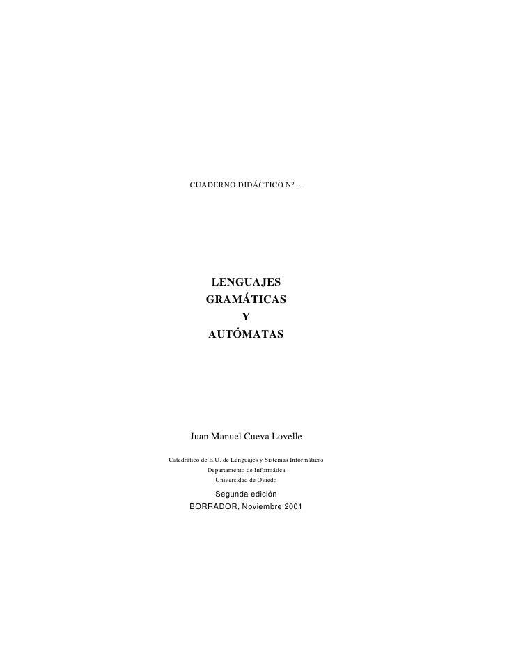 Automatas y gramaticas