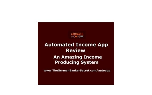 NOTE: ALL THE LINKS IN THIS VIDEO ARE FULLY INTERACTIVE. YOU CAN CLICK ON THEM WHENEVER YOU WISH!  AUTOMATED INCOME APP RE...