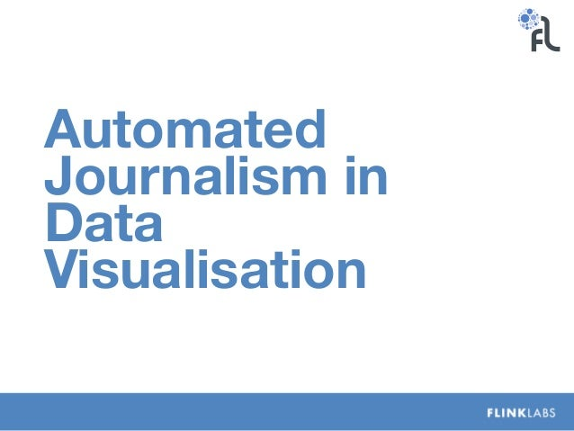 Automated Journalism in Data Visualisation
