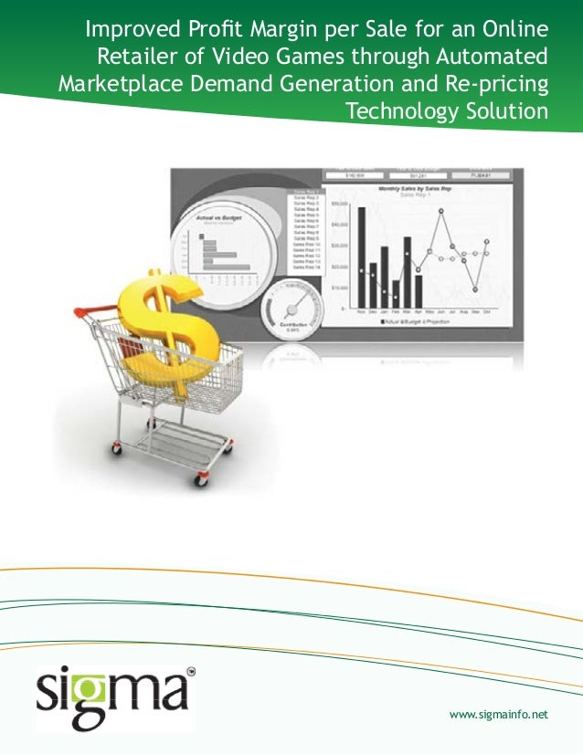 Automated marketplace demand generation and re pricing technology solution -_sigma infosolutions