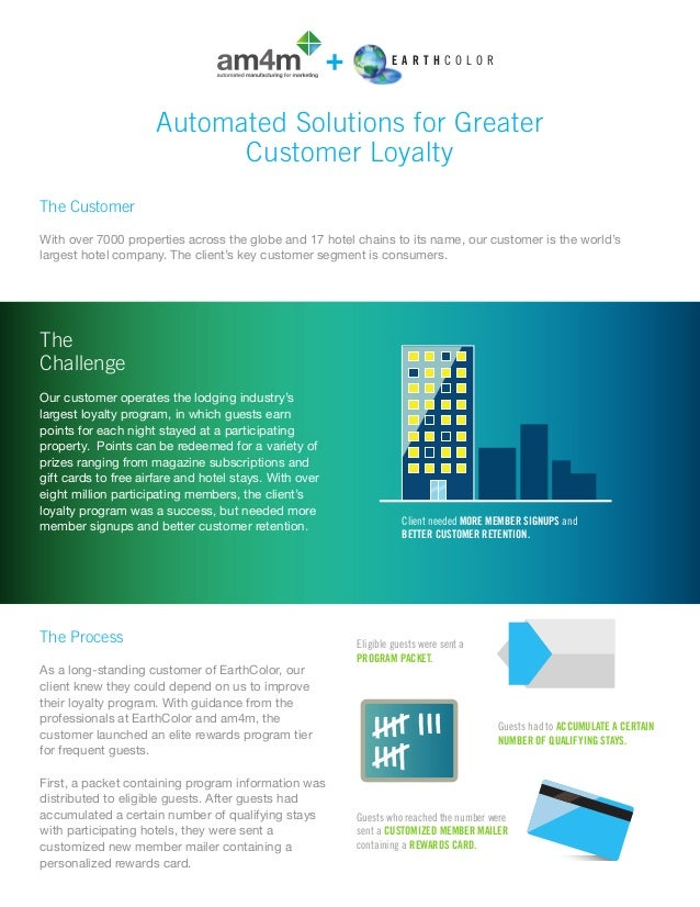 Automated solutions for greater customer loyalty