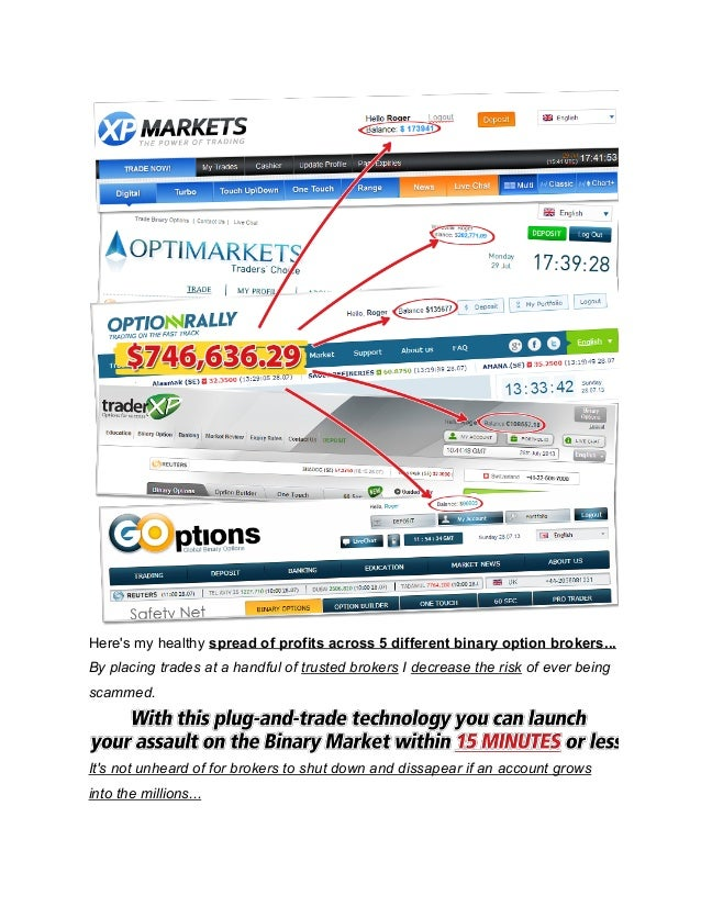 binary options strategy uk broker
