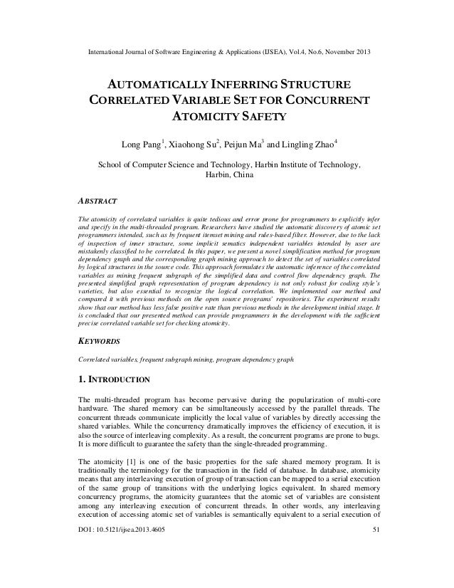 Automatically inferring structure correlated variable set for concurrent atomicity safety