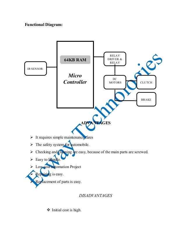 automatic clutch  u0026 braking system