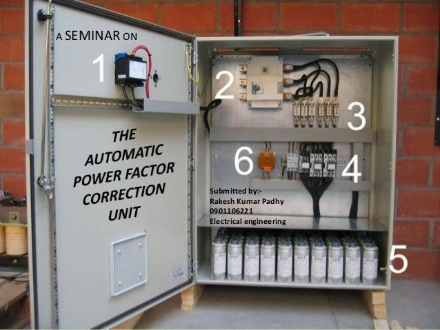 Automatic power factor correction unit