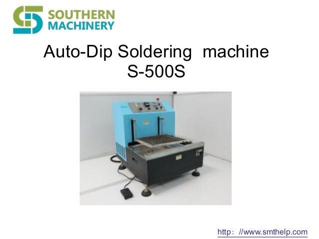 solder dip machine