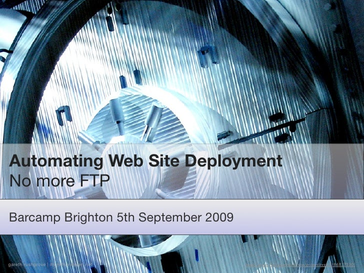 Automating web site deployment