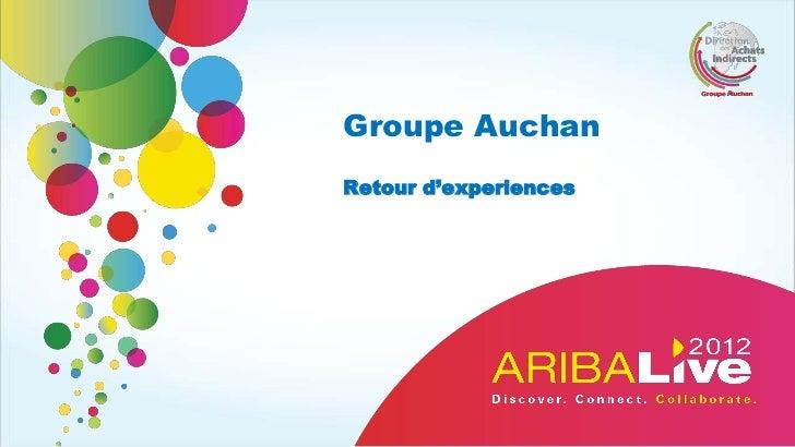 Groupe AuchanRetour d'experiences