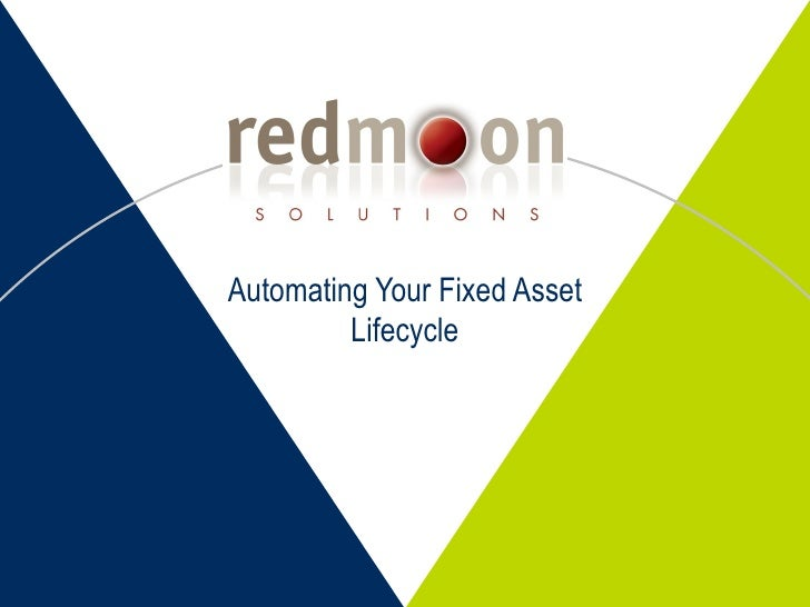 Automating Your Fixed Assets Lifecycle