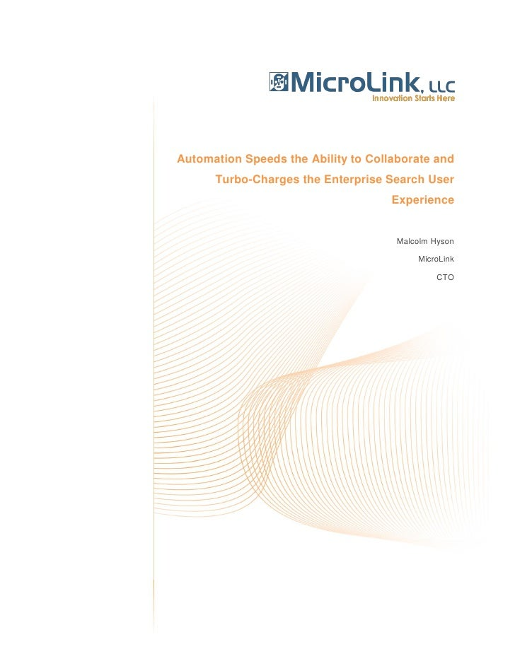 Automation and social networking white paper