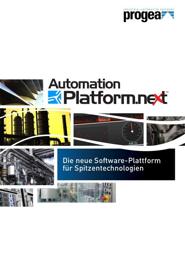 Die neue Software-Plattform für Spitzentechnologien
