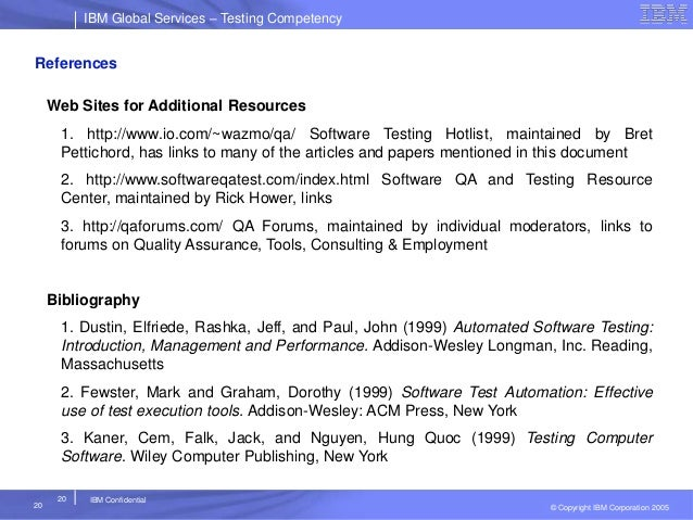 Web Test Tools  Software QA and Testing Resource Center