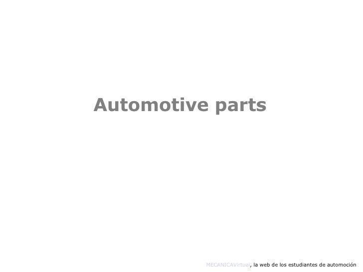 Automotive   Ingles