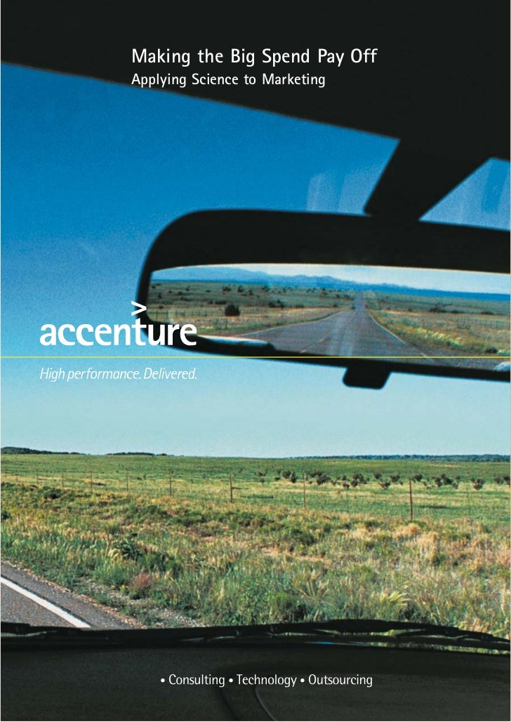 Automotive ad spend science   accenture