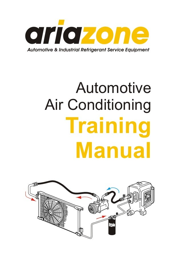 AutomotiveAir Conditioning   Training    Manual