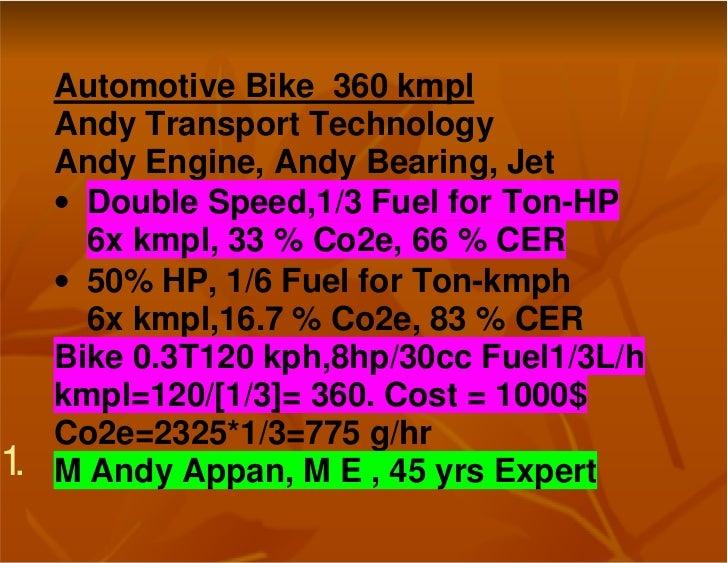Automotive bike  360 kmpl