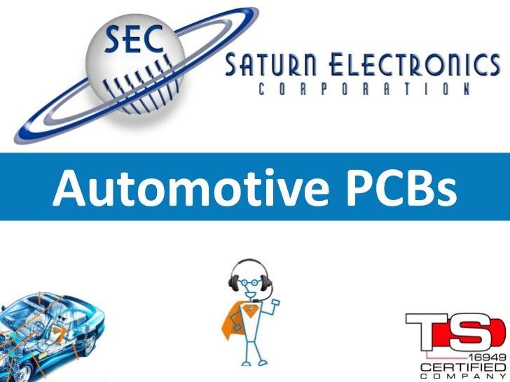 Automotive PCBs