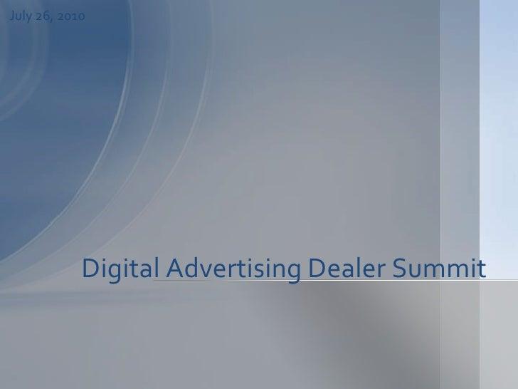 Automotive Digital Advertising for Car Dealers